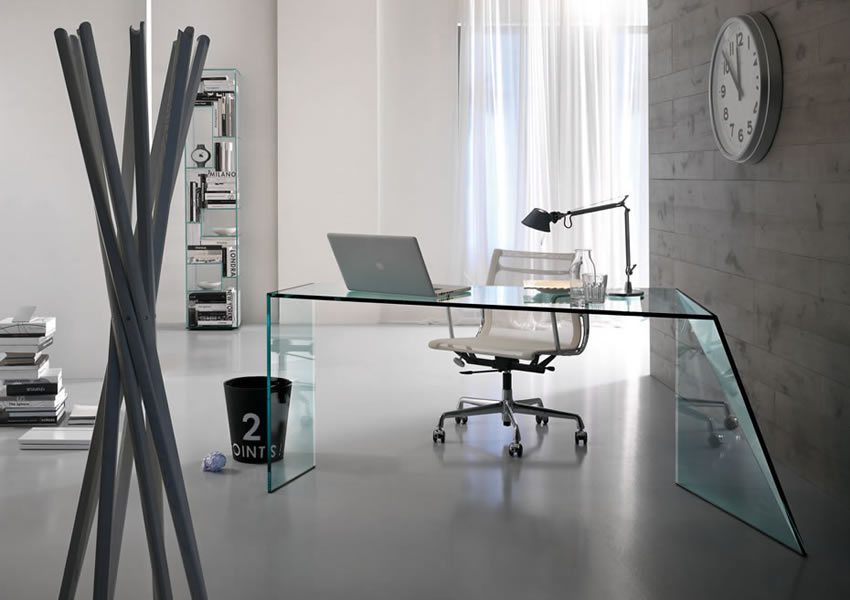 Glass Home Office